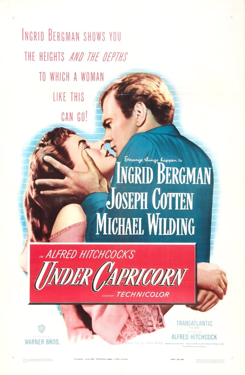"Poster for the movie ""Under Capricorn"""