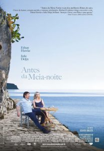 "Poster for the movie ""Antes da Meia-Noite"""
