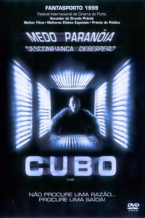 "Poster for the movie ""Cubo"""