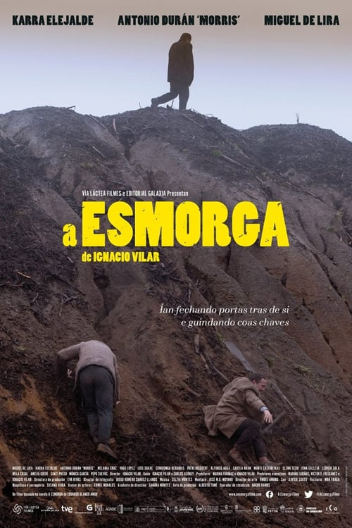 "Poster for the movie ""A Esmorga"""