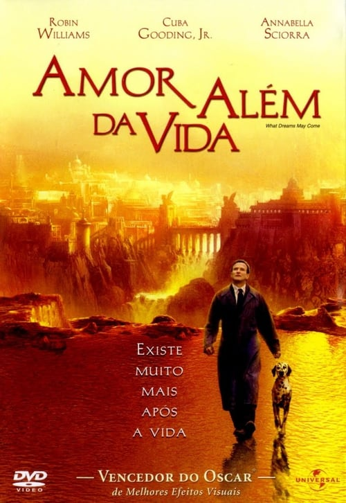 "Poster for the movie ""Amor Além da Vida"""