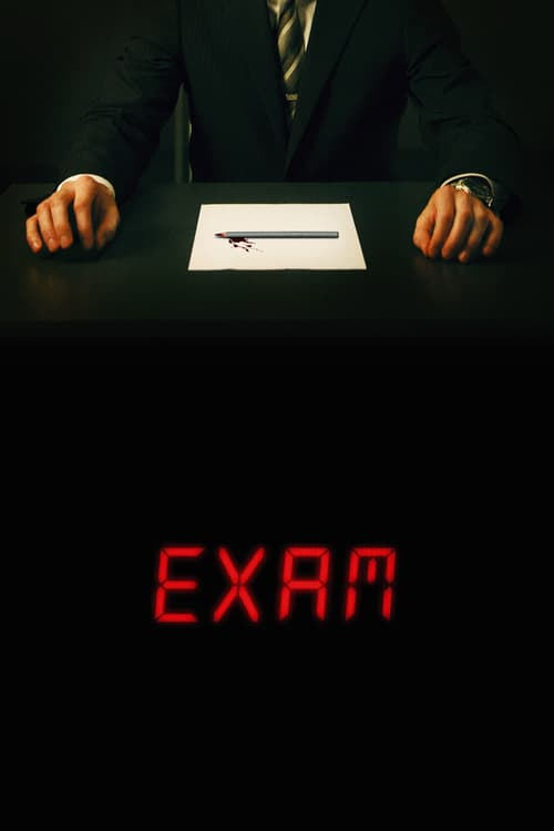 "Poster for the movie ""Exam"""