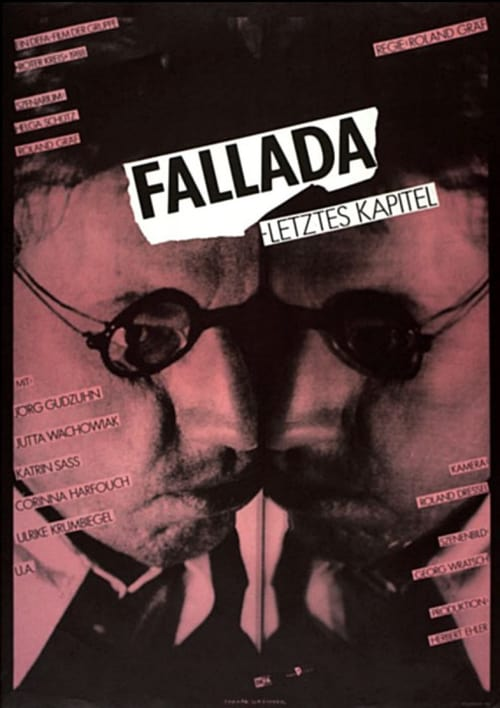 "Poster for the movie ""Fallada - letztes Kapitel"""