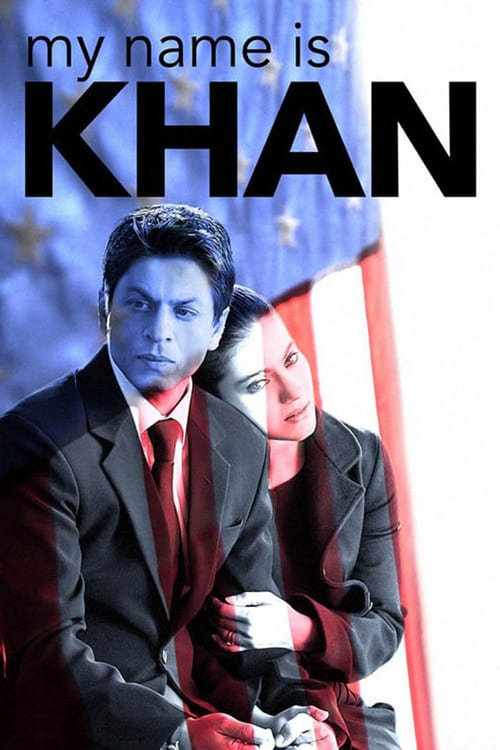"Poster for the movie ""Meu Nome É Khan"""