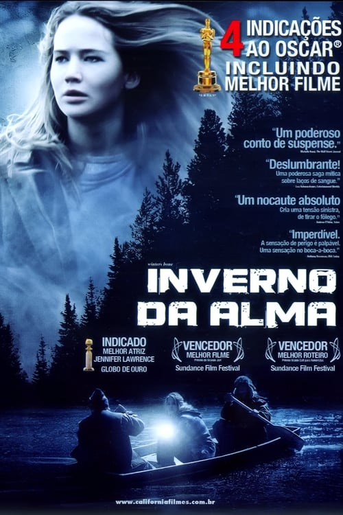 "Poster for the movie ""Inverno da Alma"""