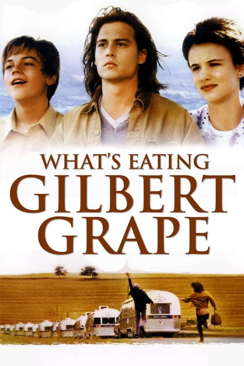 "Poster for the movie ""Gilbert Grape - Aprendiz de Sonhador"""