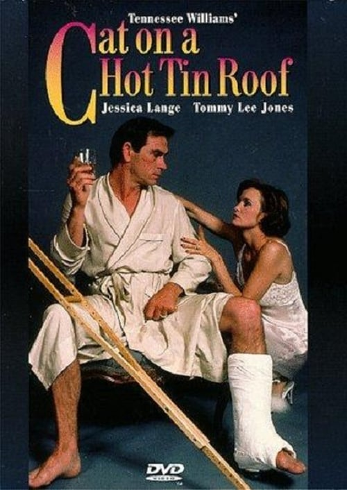 "Poster for the movie ""Cat on a Hot Tin Roof"""