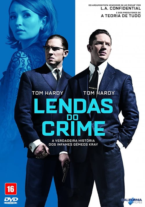 "Poster for the movie ""Lendas do Crime"""