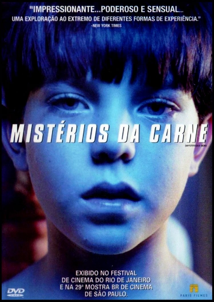 "Poster for the movie ""Mistérios da Carne"""