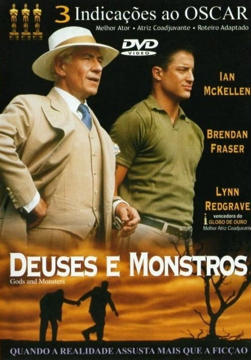 "Poster for the movie ""Deuses e Monstros"""