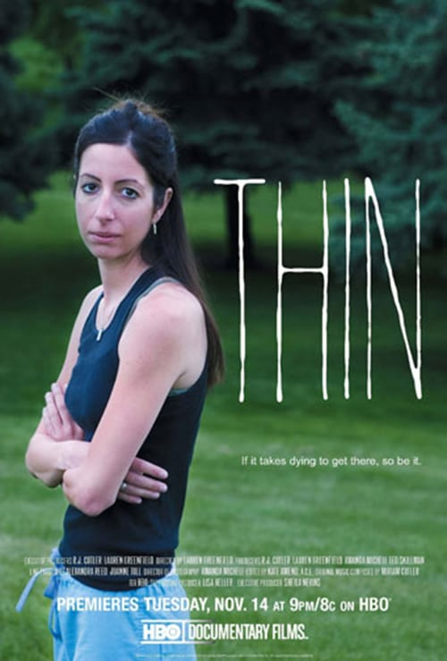 "Poster for the movie ""Thin"""