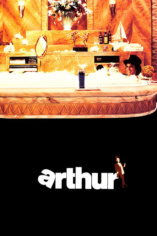 "Poster for the movie ""Arthur - O Milionário Sedutor"""