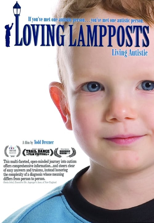 "Poster for the movie ""Loving Lampposts"""