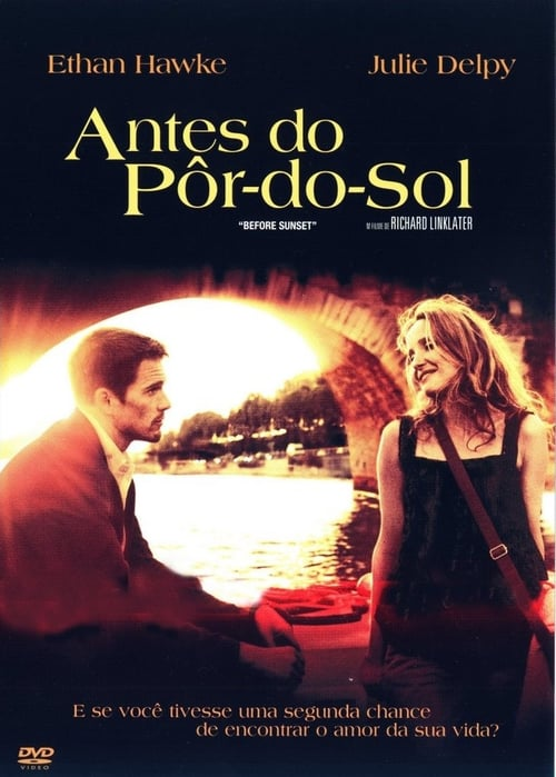 "Poster for the movie ""Antes do Anoitecer"""