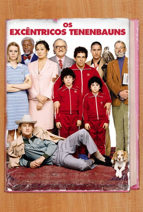 "Poster for the movie ""Os Tenenbaums"""