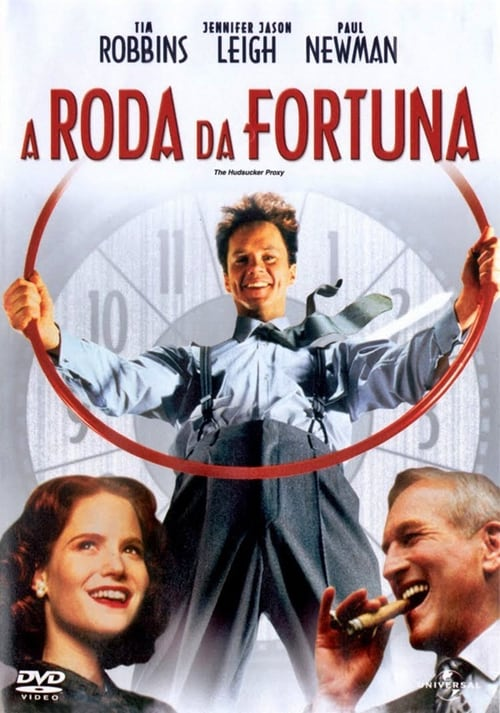"Poster for the movie ""A Roda da Fortuna"""