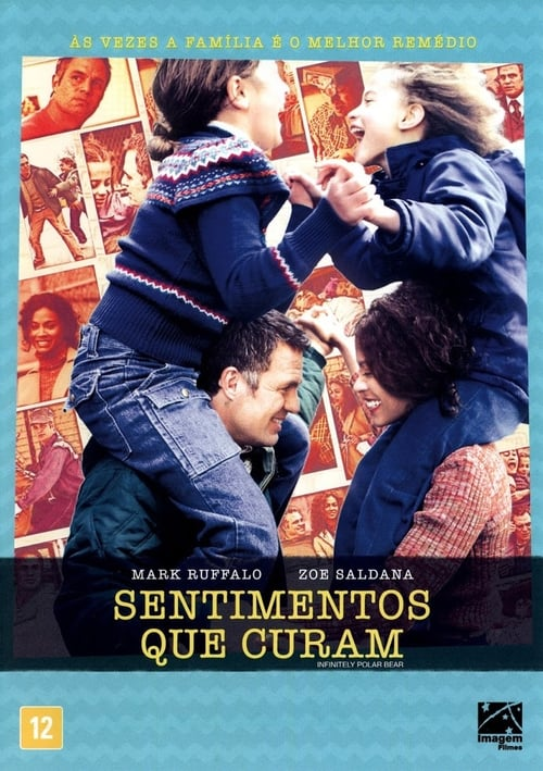 "Poster for the movie ""Sentimentos que Curam"""