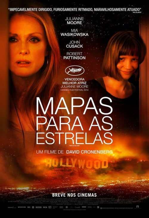 "Poster for the movie ""Mapas Para as Estrelas"""