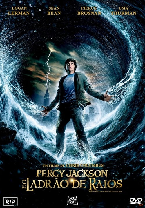 "Poster for the movie ""Percy Jackson e os Ladrões do Olimpo"""