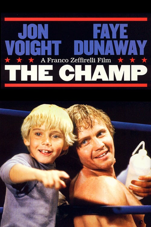 "Poster for the movie ""The Champ"""