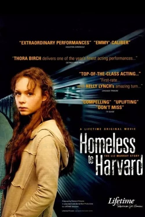 "Poster for the movie ""Homeless to Harvard: The Liz Murray Story"""