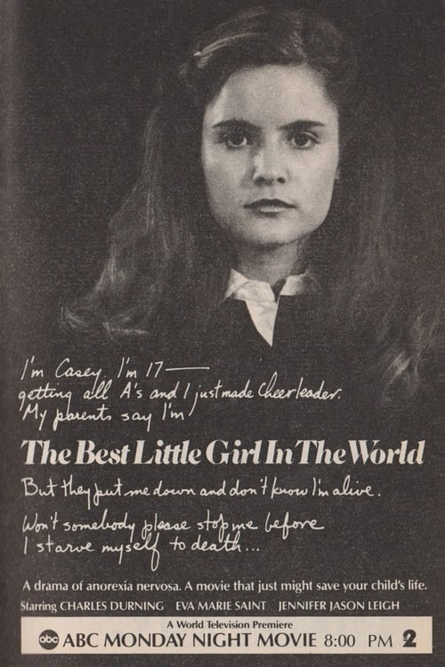 "Poster for the movie ""The Best Little Girl in the World"""