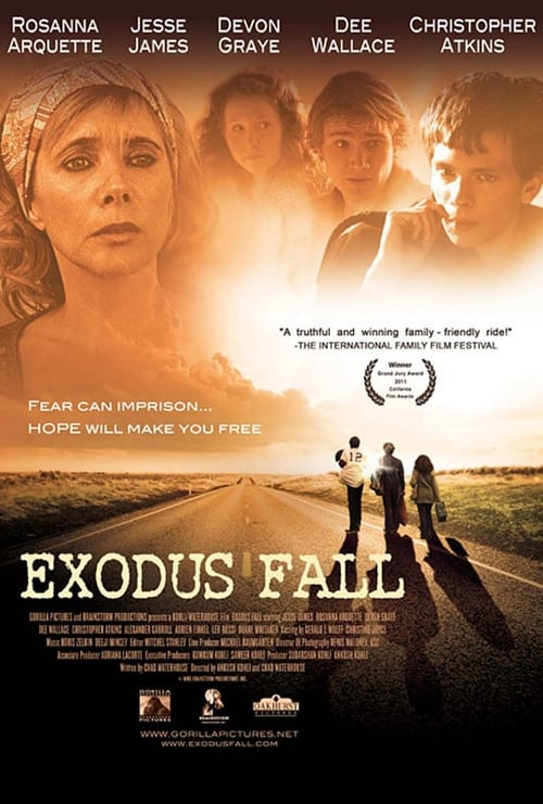 "Poster for the movie ""Exodus Fall"""