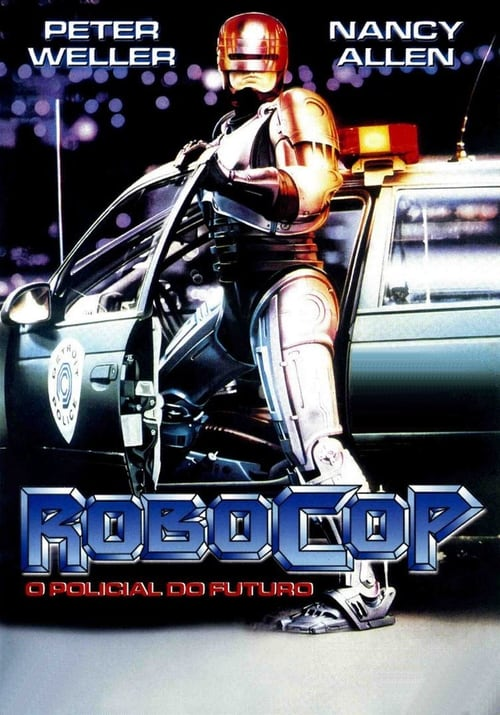 "Poster for the movie ""Robocop - O Polícia do Futuro"""
