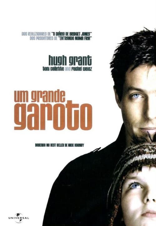 "Poster for the movie ""Um Grande Garoto"""