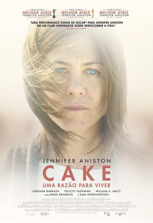 "Poster for the movie ""Cake - Uma Razão para Viver"""