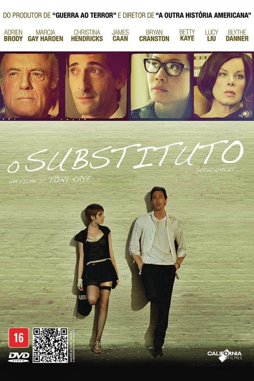 "Poster for the movie ""O Substituto"""