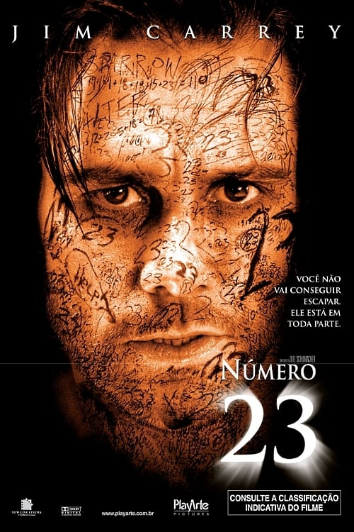 "Poster for the movie ""Número 23"""