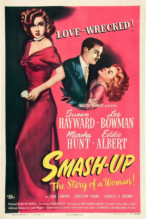 "Poster for the movie ""Smash-Up: Story of a Woman"""