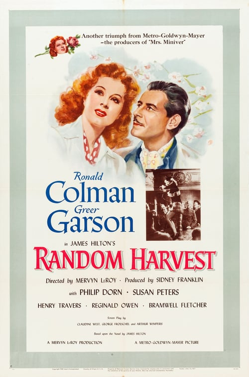 "Poster for the movie ""Random Harvest"""