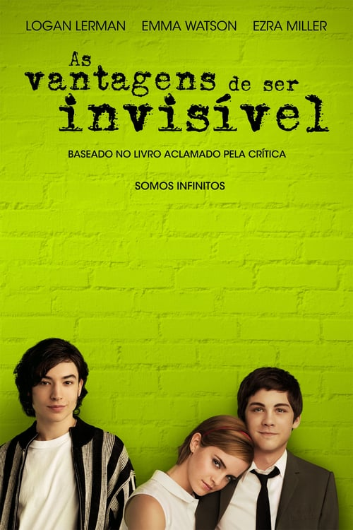 "Poster for the movie ""As Vantagens de Ser Invisível"""