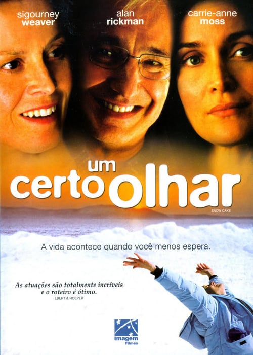 "Poster for the movie ""Um Certo Olhar"""