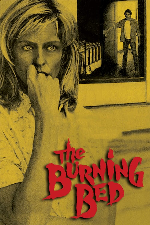 "Poster for the movie ""The Burning Bed"""