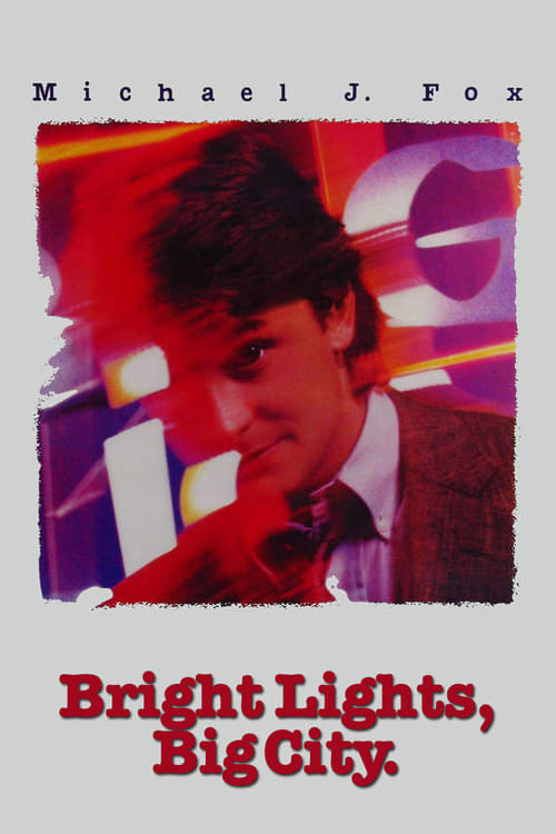 "Poster for the movie ""Bright Lights, Big City"""