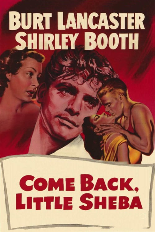 "Poster for the movie ""Come Back, Little Sheba"""