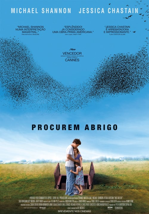 "Poster for the movie ""O Abrigo"""