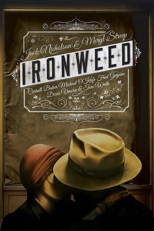 "Poster for the movie ""Ironweed"""