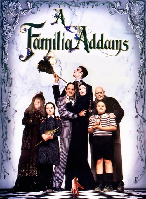 "Poster for the movie ""A Família Addams"""