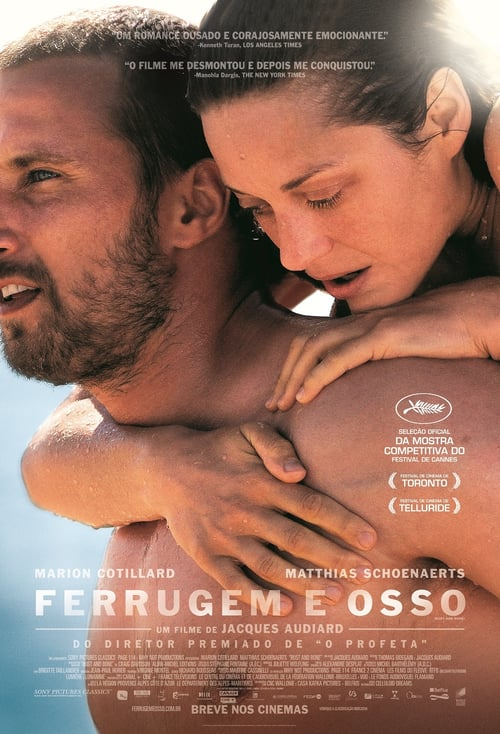 "Poster for the movie ""Ferrugem e Osso"""