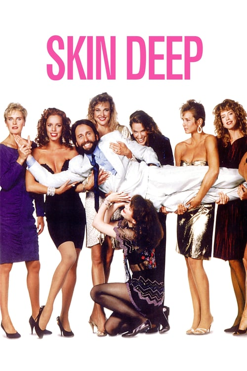 "Poster for the movie ""Skin Deep"""