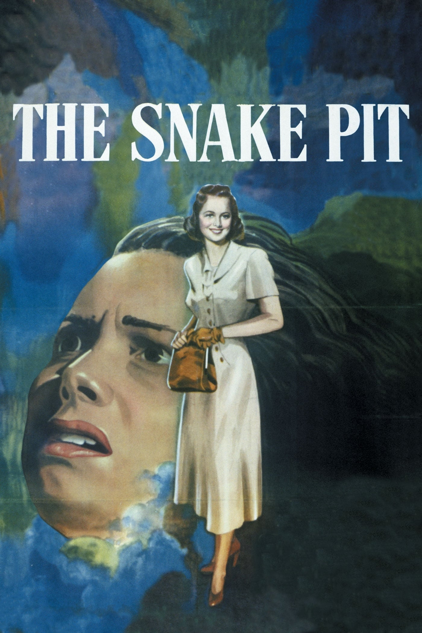 "Poster for the movie ""The Snake Pit"""