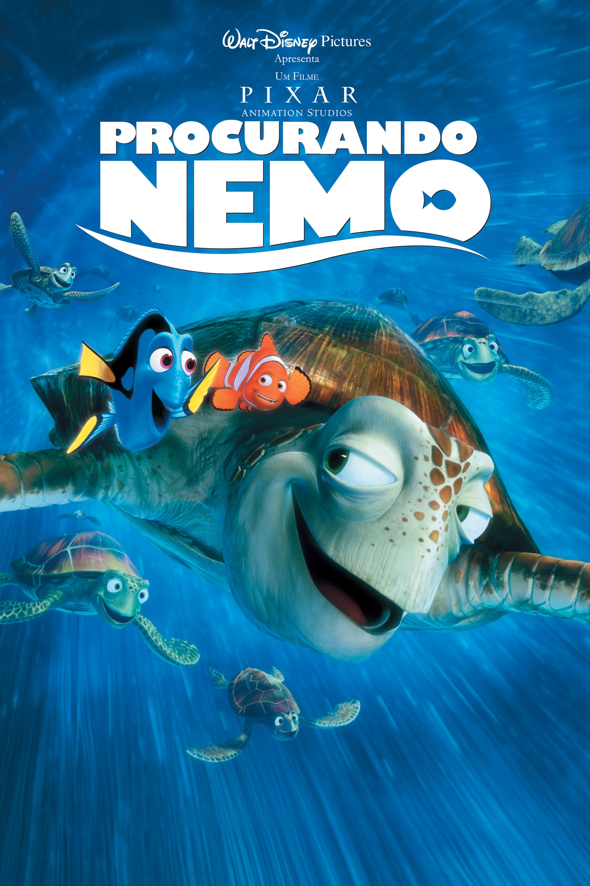 "Poster for the movie ""À Procura de Nemo"""