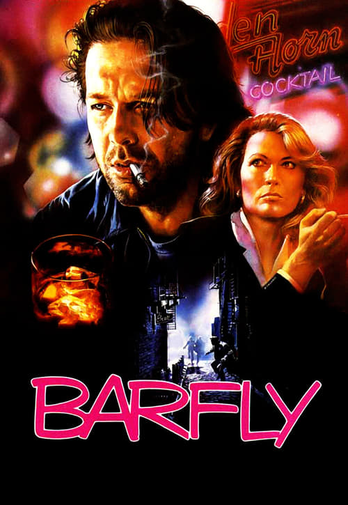 "Poster for the movie ""Barfly - Condenados Pelo Vício"""