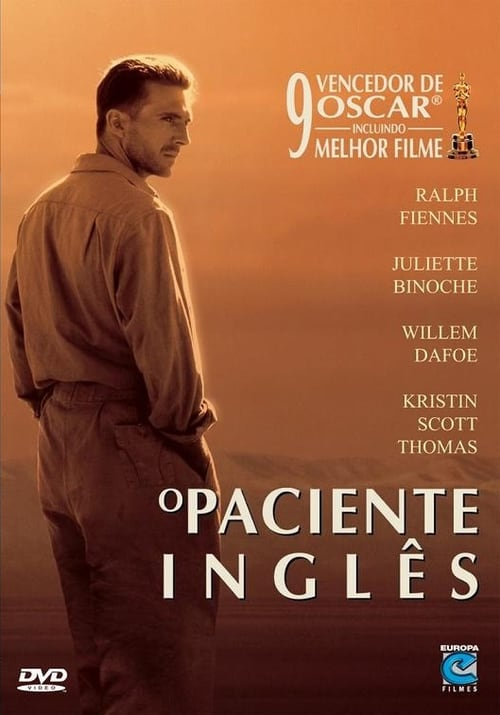 "Poster for the movie ""O Paciente Inglês"""