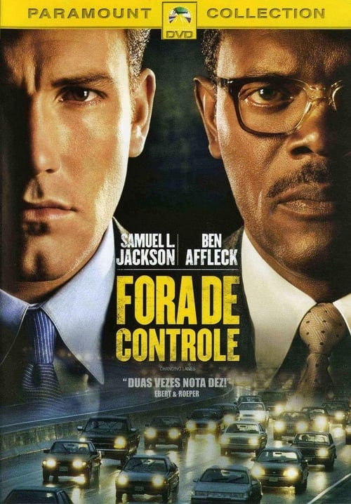 "Poster for the movie ""Fora de Controle"""