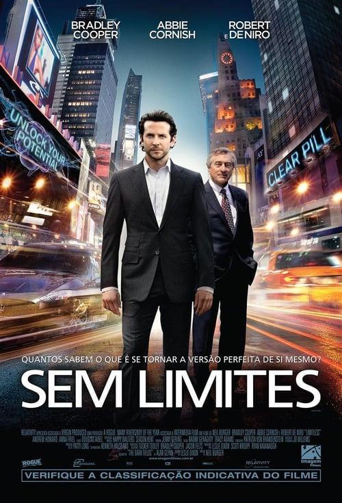"Poster for the movie ""Sem Limites"""